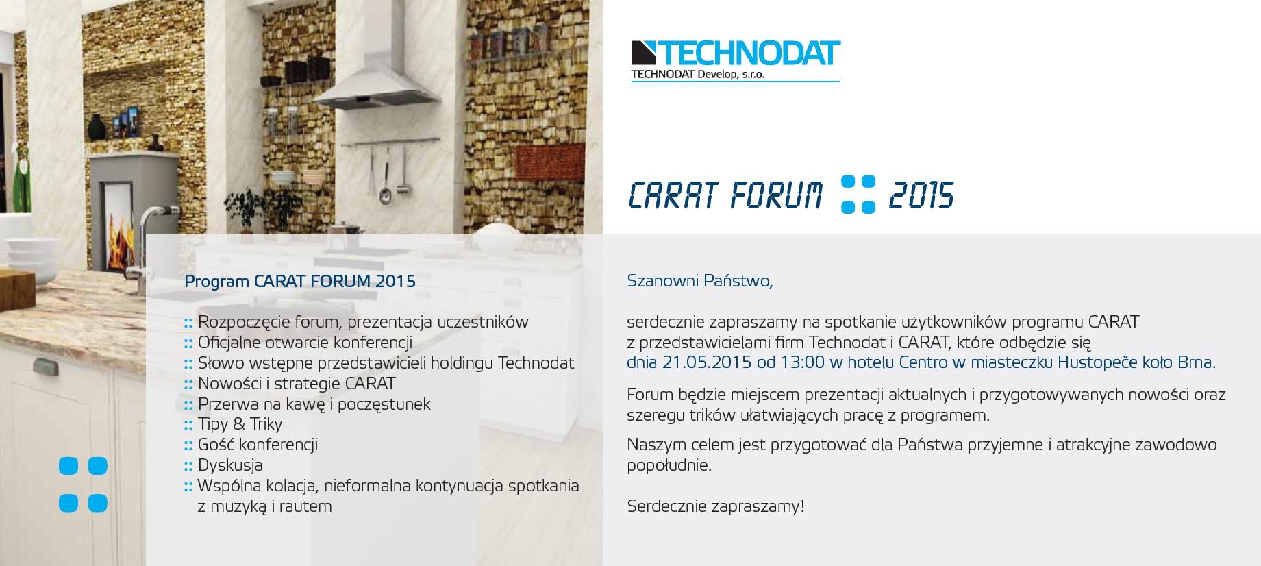 CARAT FORUM 2015